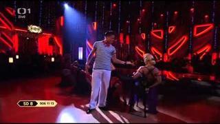StarDance- Ondřej Brzobohatý a Eva Krejčířová - tango
