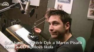 Staří bardi - Vojtěch Dyk a Martin Písařík - focení k CD Aprílová škola