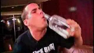 Steve-O raps and drink tequila