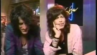 Steven Tyler + Joe perry on V-66