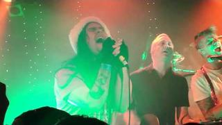 "Street Drum Corps feat. Bert McCracken - ""Happy X-Mas (War Is Over)"" @ The Roxy 12-07-10 (11 of 11)"