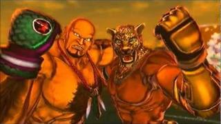 Street Fighter X Tekken - King and Marduk Arcade Mode (1/2)