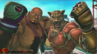 Street Fighter X Tekken - SFXT King and Marduk Prologue Story Intro [60 Fps HD]