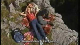 Sturm der Liebe: Miriam and Robert in love