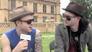 Sum 41 interview at Sonisphere 2011
