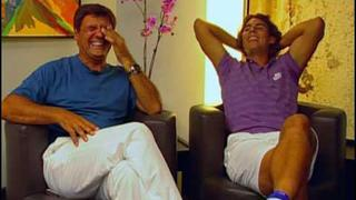 Supertío Nadal (Toni y Rafa)