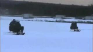 Swedish airforce sledding fun!