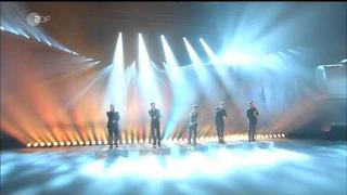 Take That -The Flood - 12.02.2011 - mit Robbie Williams live bei Wetten Dass mit Thomas Gottschalk zdfkultnacht