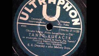 Tanec Kukacek Dance of the Cuckoos Laurel and Hardy Theme Tune RA Dvorsky Praha ca 1930