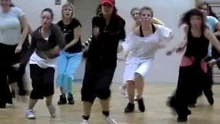 Tanec na Nicole Sherzinger