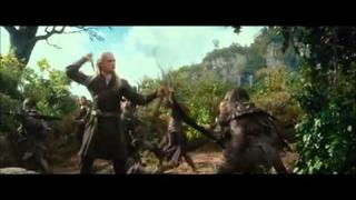 Tauriel, Legolas and Thranduil