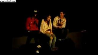 Taylor lautner and Edi Gathegi singing to Nikki Reed!