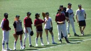 Team Introductions at Vampire Baseball