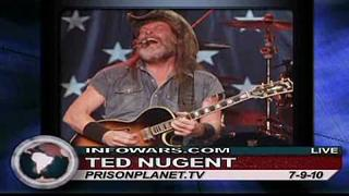 Ted Nugent: Obama is Waging War on The American Way of Life - Alex Jones Tv 2/3