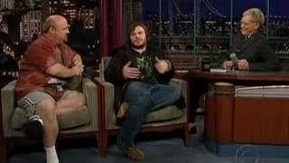 Tenacious D on Letterman 11/14/06