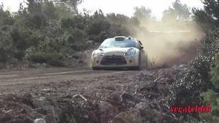 Test Petter Solberg-Chris Patterson pré-Mexique DS3 WRC