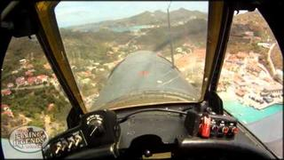 Texas Flying Legends Museum - Saint Barths Airshow 2011 - Cockpit Cameras