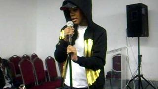"TEYANA TAYLOR SINGIN ""I AM READY FOR LOVE"" AFTER HARL3M INK REHEARSAL....KILLIN IT!"