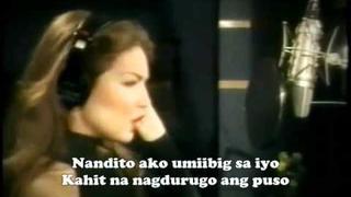 Thalia - Nandito Ako with Lyrics