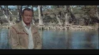 The Alamo - John Wayne as David Crockett
