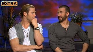 The Avengers' Interviews: Chris Hemsworth and Chris Evans