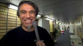 The Big 4 : Interview with Tom Araya from Slayer live at Ullevi, Sweden HD