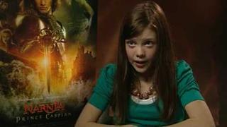 The Chronicles Of Narnia: Prince Caspian: Georgie Henley interview