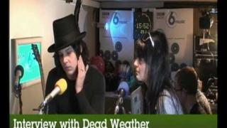 The Dead Weather interviewed at Glastonbury 2010 on BBC 6 Music