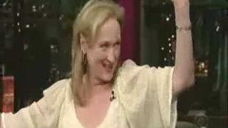 The funny Meryl Streep ....