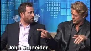 The Gregory Mantell Show - John Schneider / Aaron Scheidies