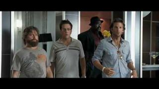 "The Hangover - ""Did we leave the music on?"""