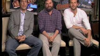 The Hangover - The Cast Explain The Youtube Competition