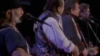 The Highwaymen live 1990 Nassau Coliseum - part 1
