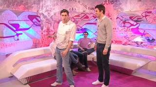 The Inbetweeners' Neil out-robots Steve Jones on T4
