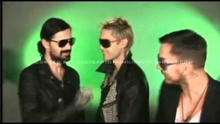"""The """"Infamous"""" 5 Question Interview: 30 Seconds To Mars"""
