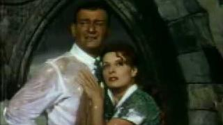 The Quiet Man-1952 Graveyard Kiss