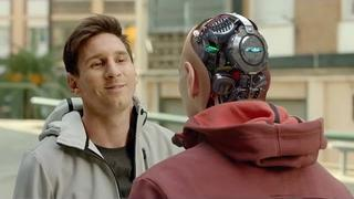 The Robot Of Lionel Messi   Commercial