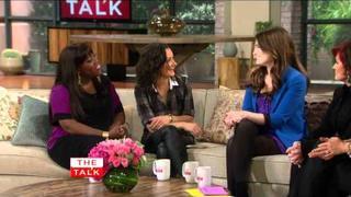 The Talk - The Talk - Idina Menzel on Family & 'Glee'
