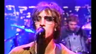 The Verve - The Drugs Don't Work (Live on Letterman 1998, USA)