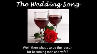 The Wedding Song - There Is Love With Lyrics