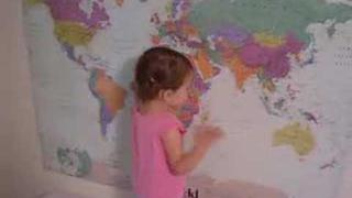 This Little Genius is Really Good at World Map!