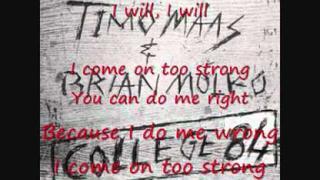 "Timo Maas ft. Brian Molko (Placebo) College 84 ""Lyrics"""