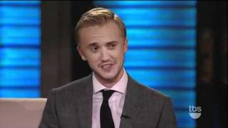 Tom Felton talks in a New Jersey Accent
