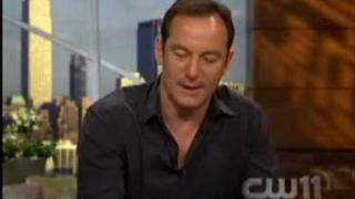 TV Interview from CW 11 NY with Jason Isaacs