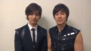 TVXQ! 동방신기_Christmas & New Year's Message