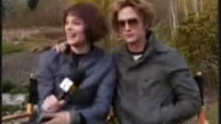 Twilight Trailer & Ashley Greene and Jackson Rathbone Stuff