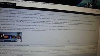 UBISOFT RESPONDS - DSP IS INNOCENT!!! (restore my channel!)