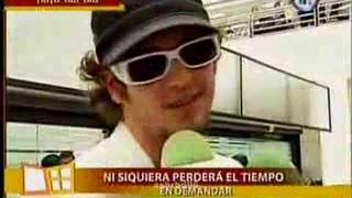 UCKER LLEGO A MEXICO  Y HABLA DE DULCE