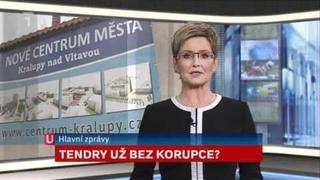 Události ČT 1.4.2012 časomíra, znělka, studio