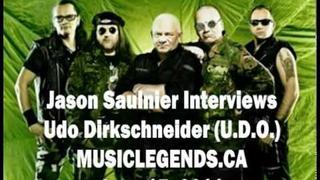 UDO Interview Udo Dirkschneider